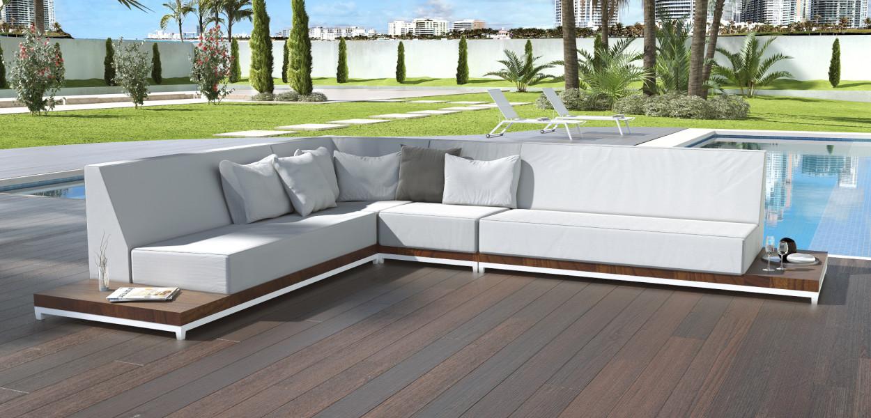 Callisto Outdoor Sofa Focus